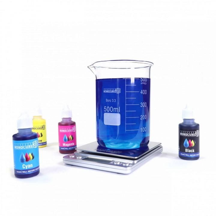 Corante CMYK Monocure 3D - para resina