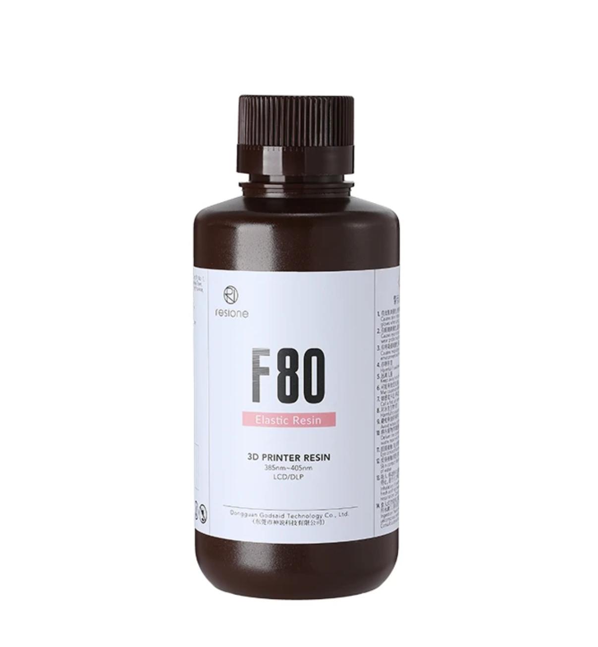 Resione F80 Dental Gum Color Elastic Resin 3D Printer Resin 500g