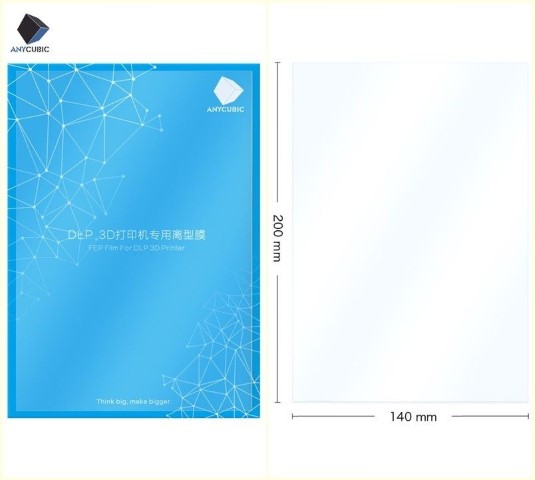 Pelicula FEP (Original Anycubic) 200x140mm