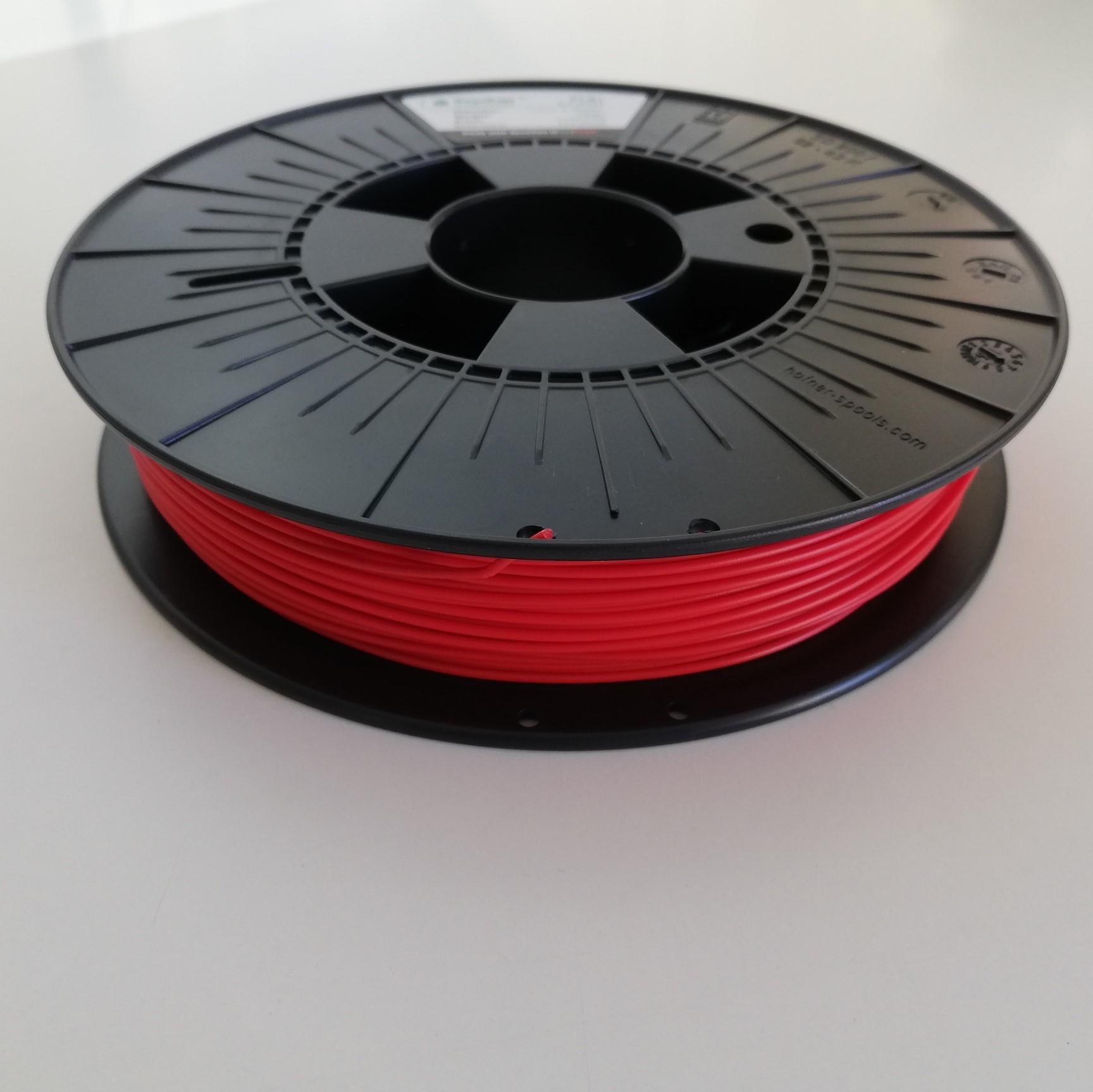 PLA RepRap PT - 1.75mm 500g - Vermelho RAL 3020