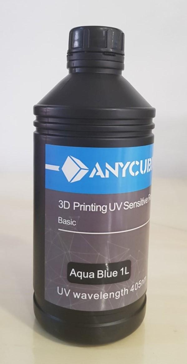 AnyCubic Resina SLA - 405nm 1L - Azul Agua