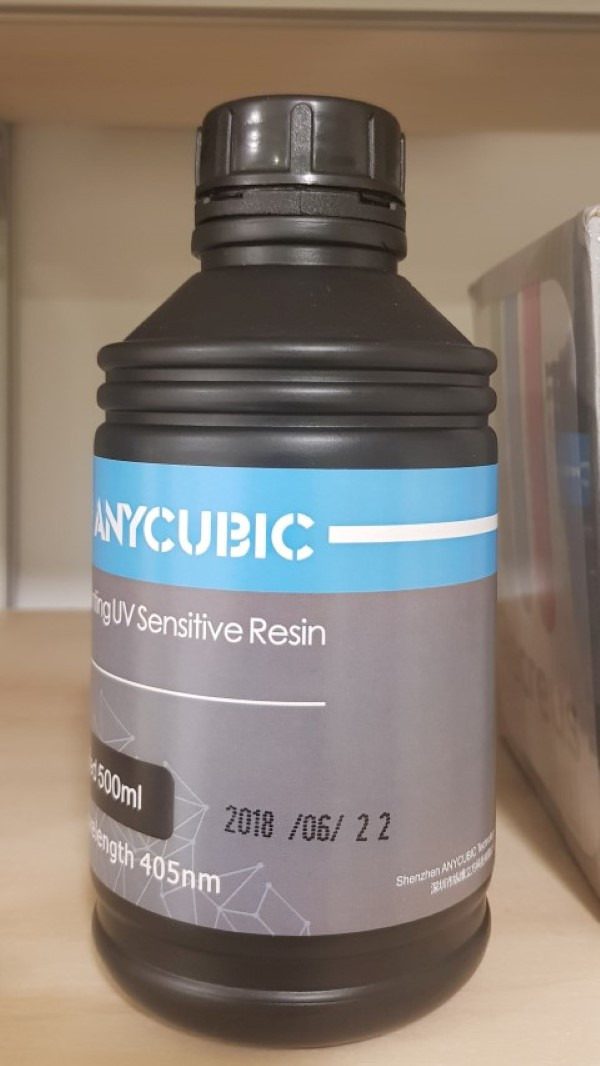 AnyCubic Resina SLA - 405nm 500ml - Nude (dental no-cast)