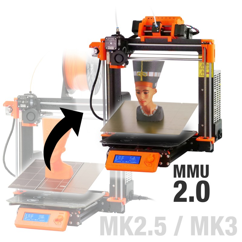 Prusa i3 MK3 Multi Material 2.0 upgrade kit (Original)