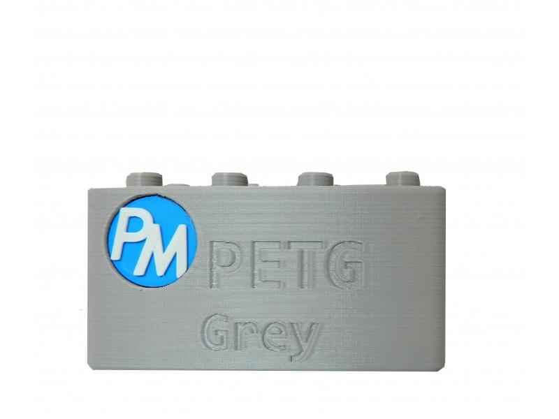PETG Filament PM - 1.75mm 1Kg - Cinzento