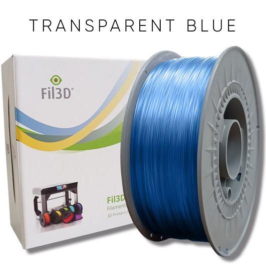 PETG Tucab - 1.75mm 1Kg - Azul Translúcido