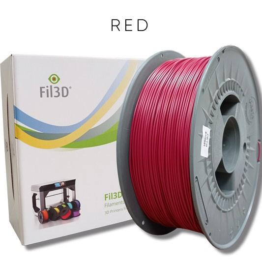 PETG Tucab - 1.75mm 1Kg - Vermelho