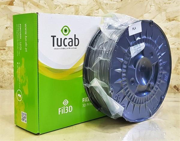 PLA Tucab 4032D - 1.75mm 1Kg - Cinza