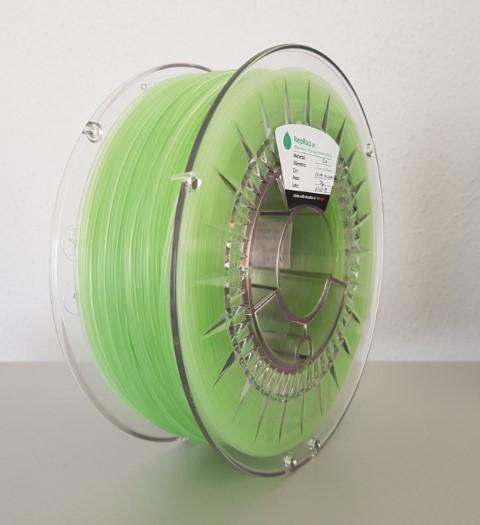 PLA RepRap PT - 1.75mm 1kg - Brilha no Escuro Verde