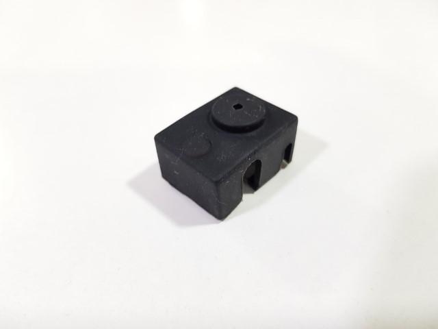Isolamento de silicone para bloco de aquecimento original e3D- preto