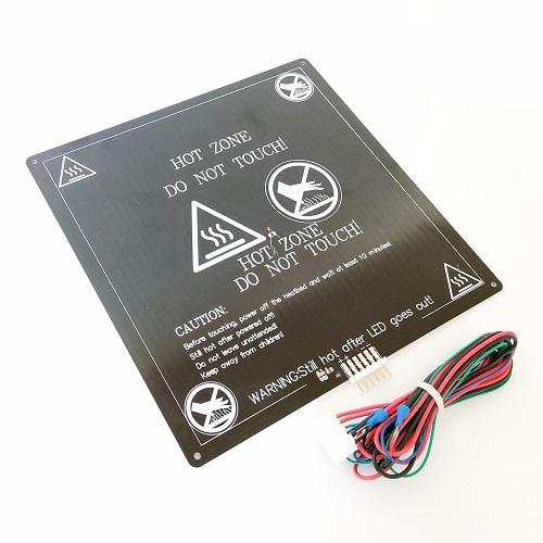 Mesa aquecida MK3 Alumínio para Anet