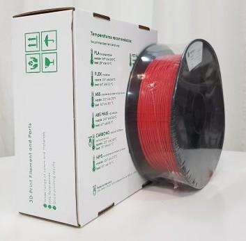 Flexível TPU RepRap PT - 1.75mm 500gr - Vermelho