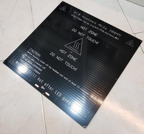 Mesa aquecida MK2a Quadrada - Preta 300x300