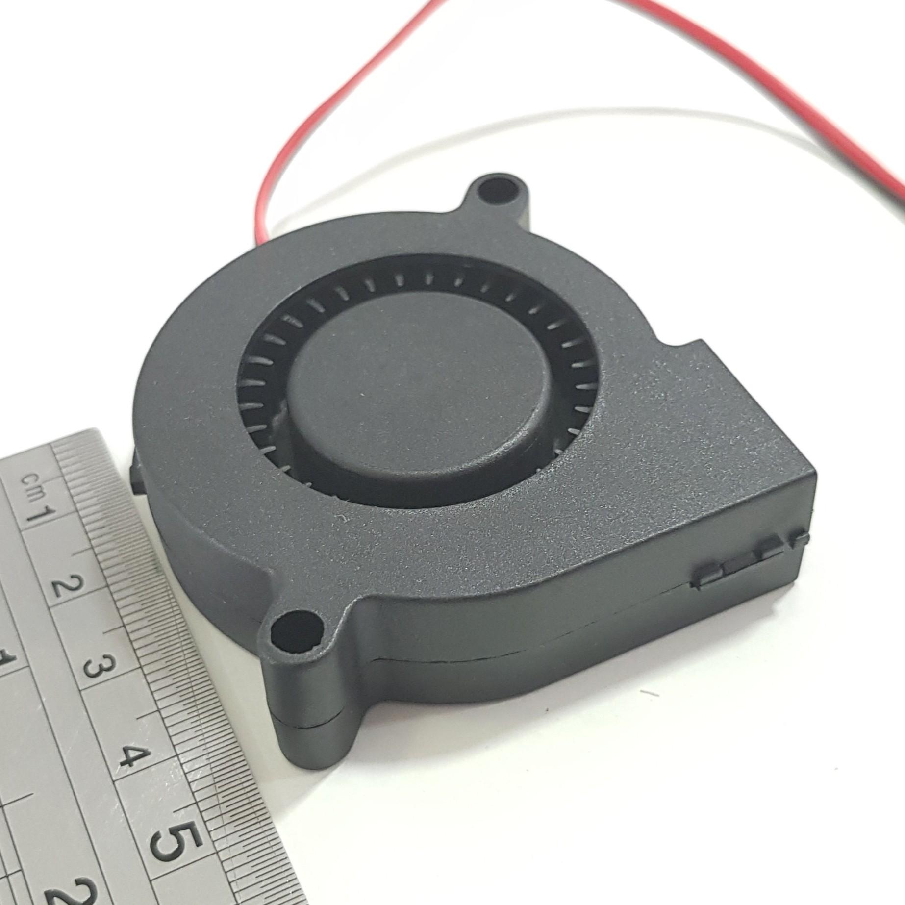 Ventoinha 50mm radial ou blower 5v 0.14A (manga)