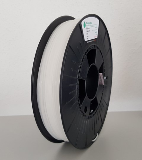 HDPE / PEAD RepRap PT - 1.75mm 450g - Natural