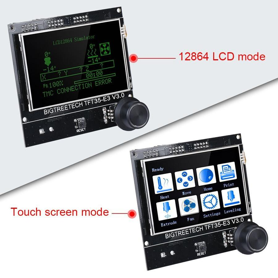LCD touch BTT TFT35-E3 V3.0 (Compativel Ender-3)