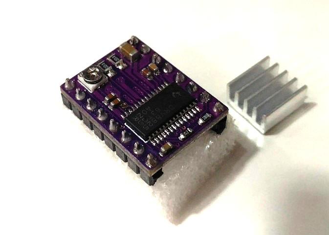DRV8825 Stepper Driver c/dissipador
