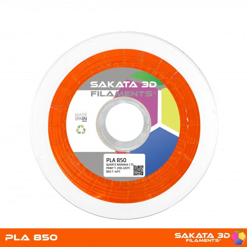 PLA INGEO 3D850 Sakata 3D - 1.75mm 1Kg - ORANGE FLUO