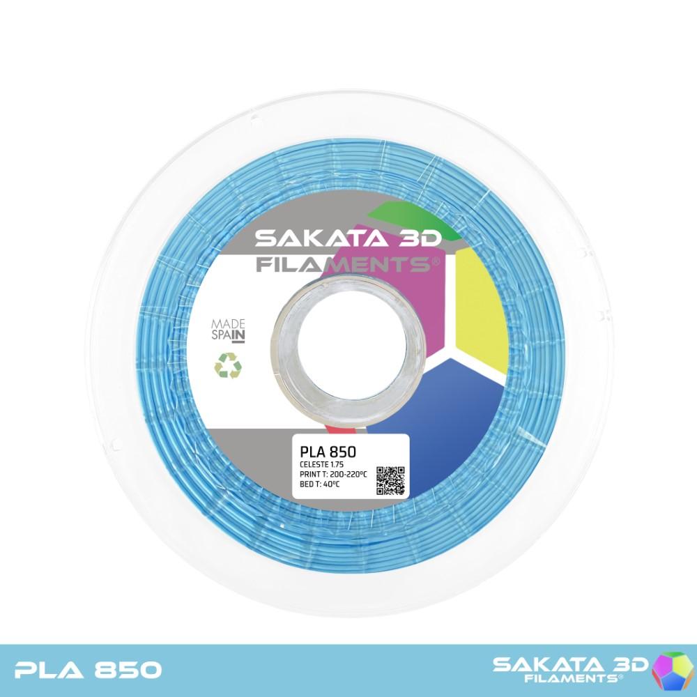 PLA INGEO 3D850 Sakata 3D  - 1.75mm 1Kg - SKY BLUE