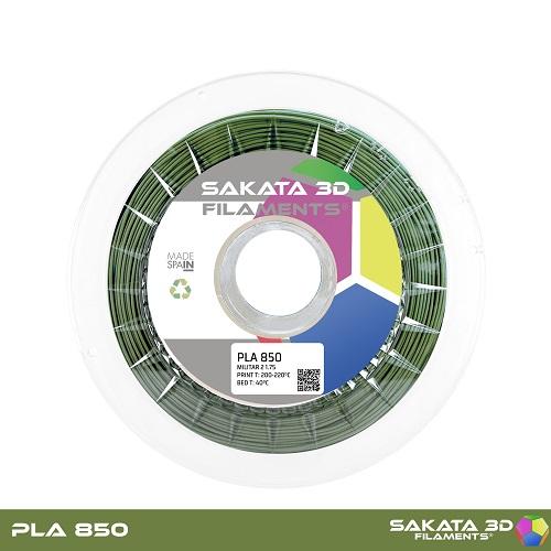 PLA INGEO 3D850 Sakata 3D - 1.75mm 1Kg - MILITAR 2