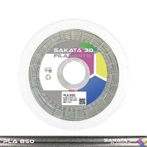 PLA INGEO 3D850 Sakata 3D - 1.75mm 1Kg - MAGIC SILVER