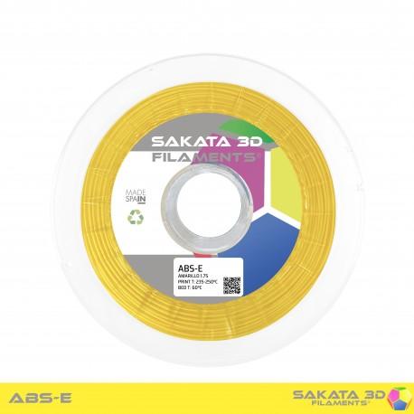 ABS-E Sakata 3D - 1.75mm 1Kg - YELLOW
