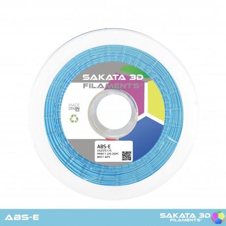ABS-E Sakata 3D - 1.75mm 1Kg - SKY BLUE