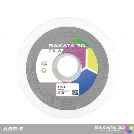 ABS-E Sakata 3D - 1.75mm 1Kg - GREY