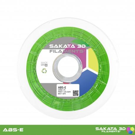 ABS-E Sakata 3D - 1.75mm 1Kg - GREEN