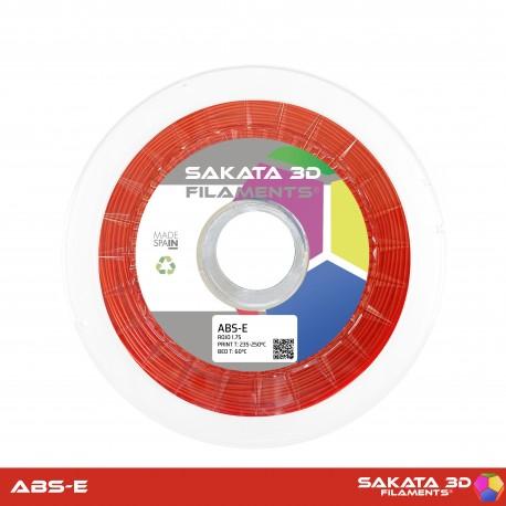 ABS-E Sakata 3D - 1.75mm 1Kg - RED