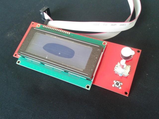 Ecrã 2004 LCD com cabo e adaptador ramps
