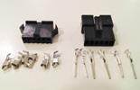 Conjunto Ficha 6 Pins 2.5mm macho e femea SM-6A e SM-6Y