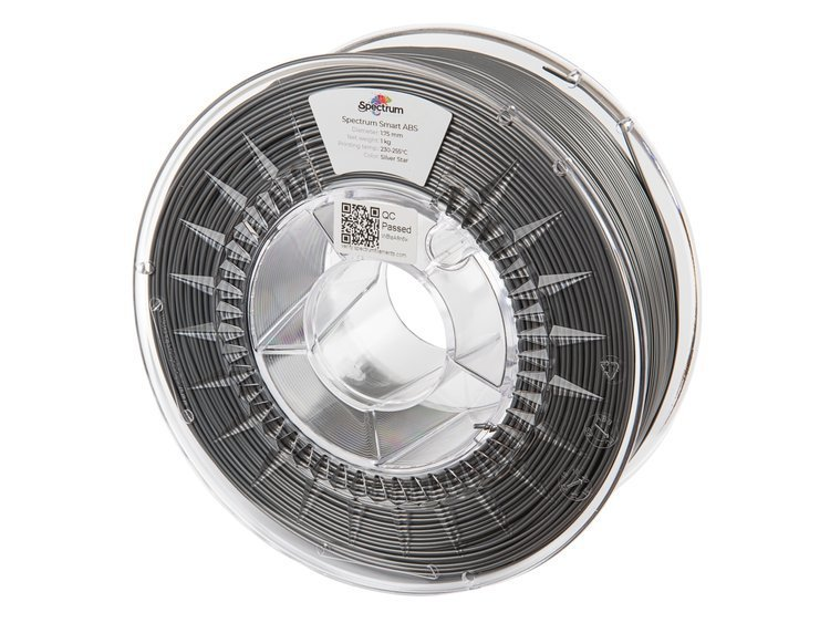 ABS SMART Spectrum - 1.75mm 1Kg - Silver Star (RAL9007)