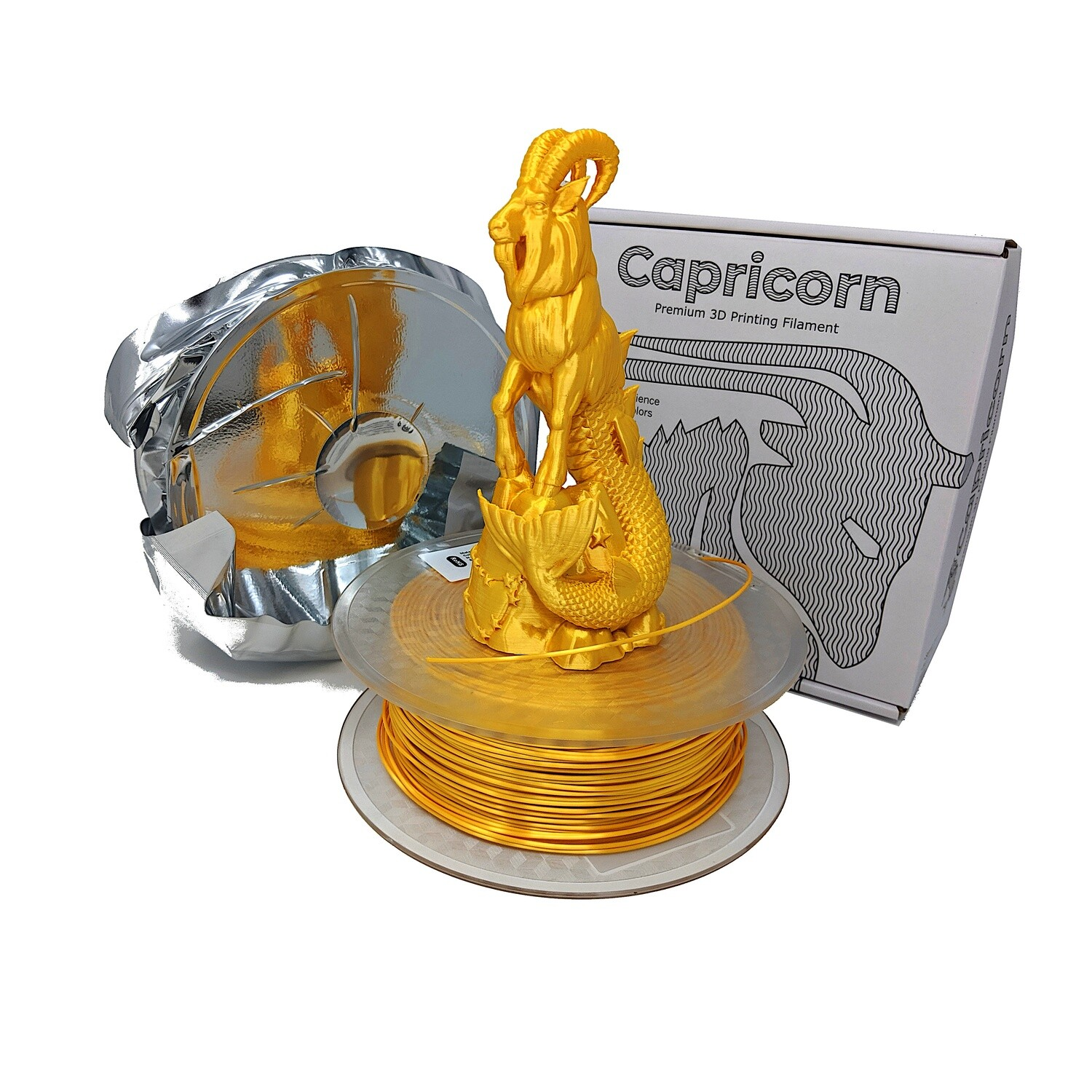 PLA Capricorn 1.75mm 1Kg - Gold