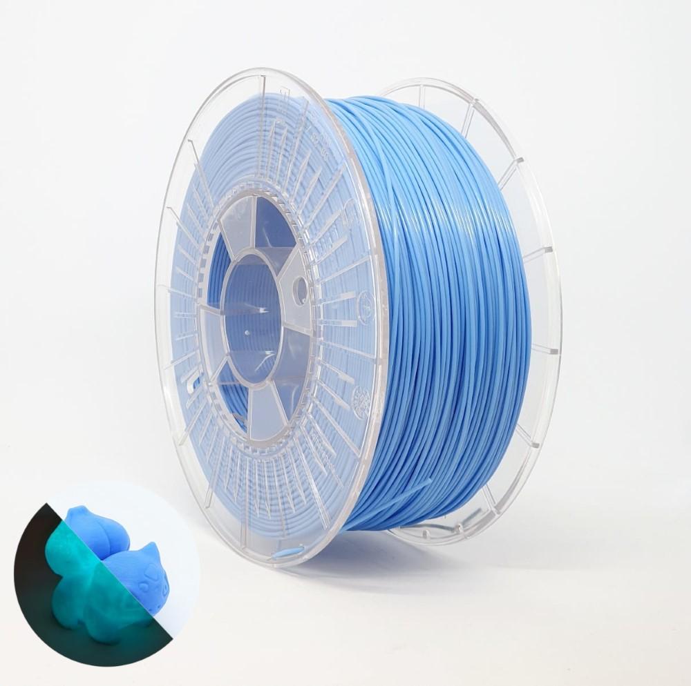 PLA RepRap PT - 1.75mm 1Kg - Azul Luminescente