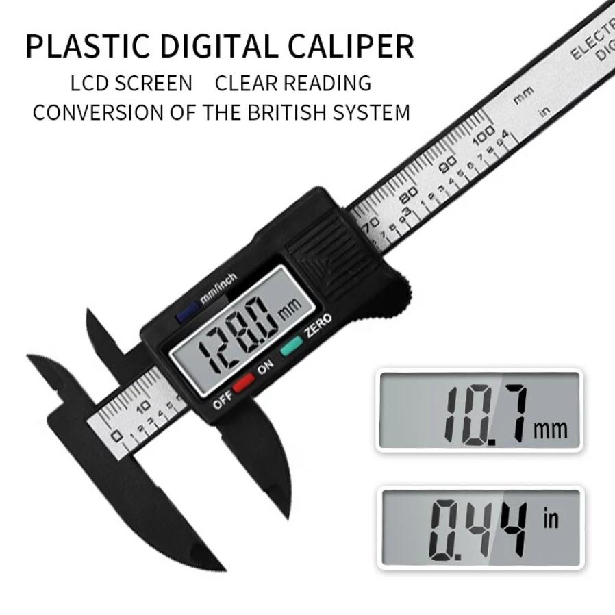 Medidor Paquímetro Digital 150mm +/- 0.1mm