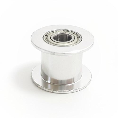 Polia para alinhamento da correia Gt2 dia interno 5mm sem dentes (larga)
