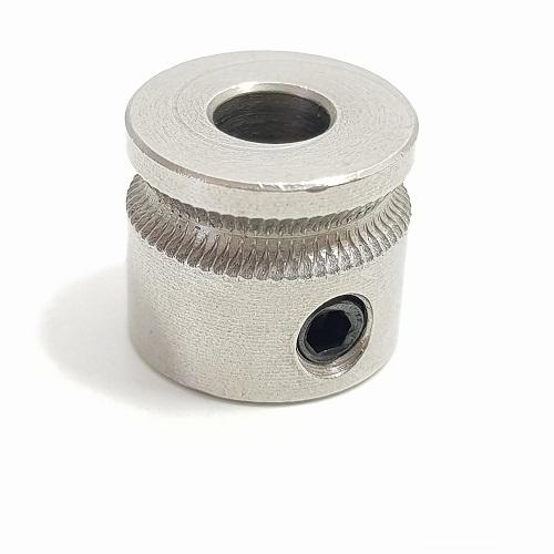Engrenagem dentada MK7 - 5mm alumínio - filamento 1.75mm