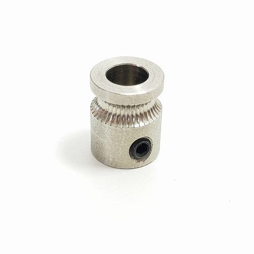 Polia ou Engrenagem dentada MK8 - Extrusão Direta em 5mm alumínio