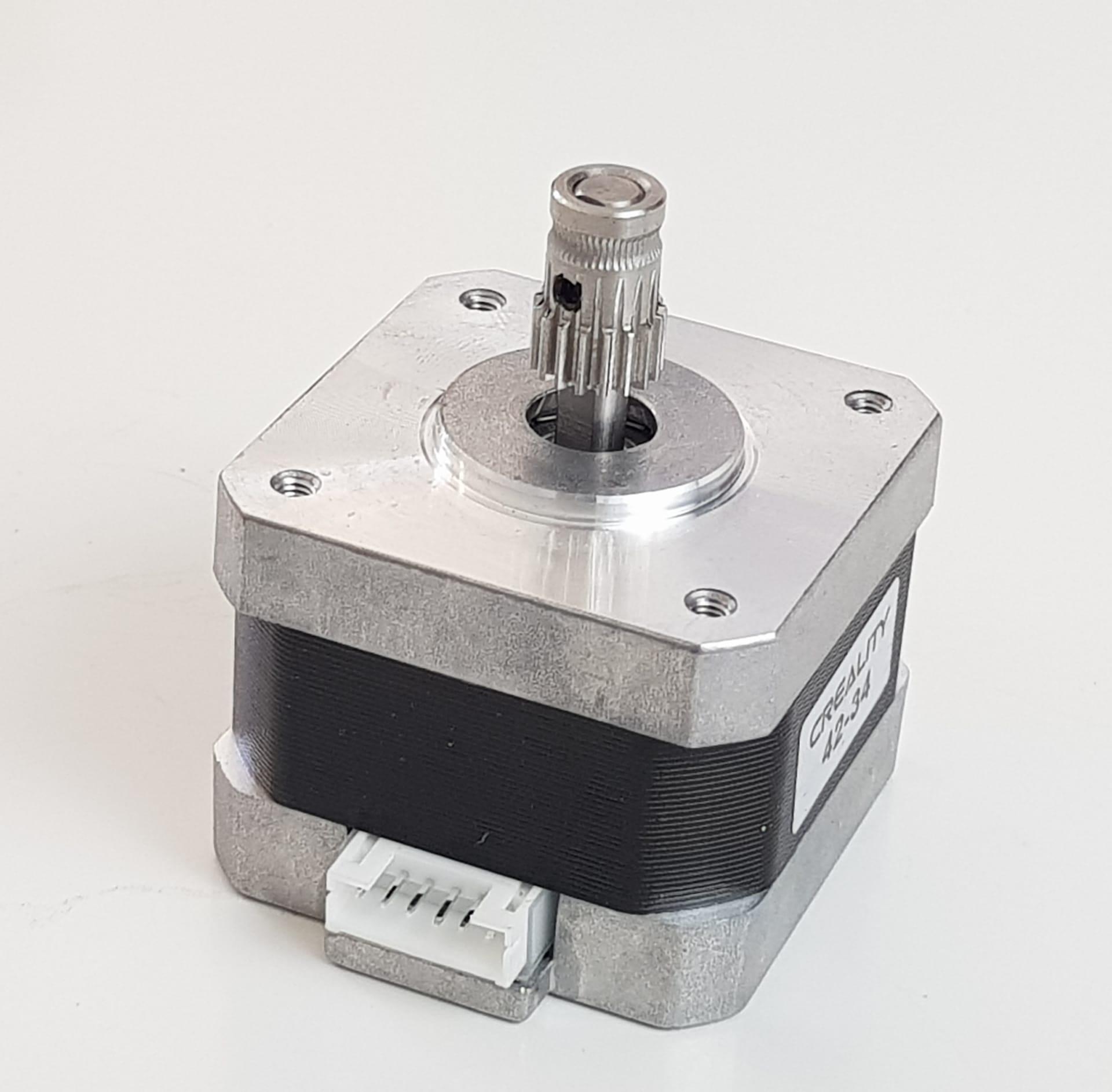Alimentador em alumínio Creality Ender e Cr10 Dual Gear