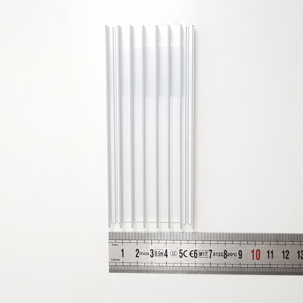 Dissipador 56x130x20mm em alumínio