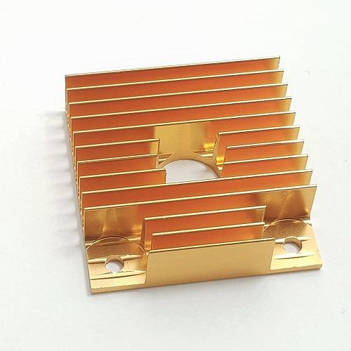 Dissipador MK8 de 40x40mm Dourado V2