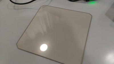 Vidro de 215mm por 215mm s/ cantos Cerâmico